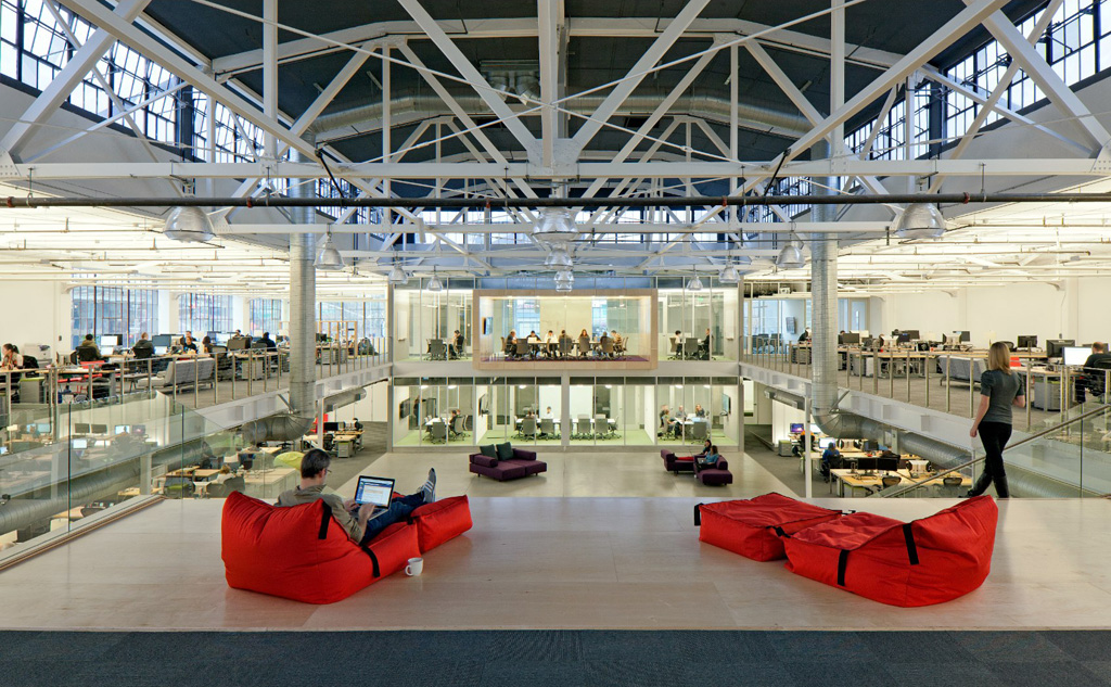 Yes we know… The company's San Francisco office is a thing of modern beauty too!