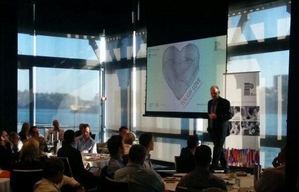 Geoffrey Garrett speaking at CPO Forum