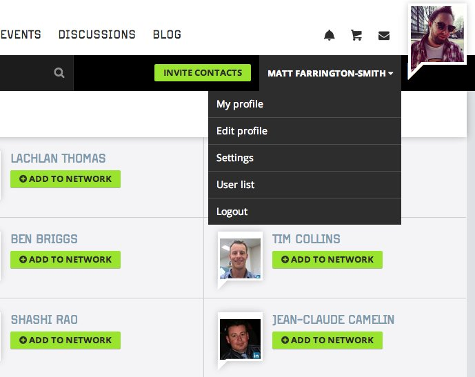 New feature: How to view the Procurious user list