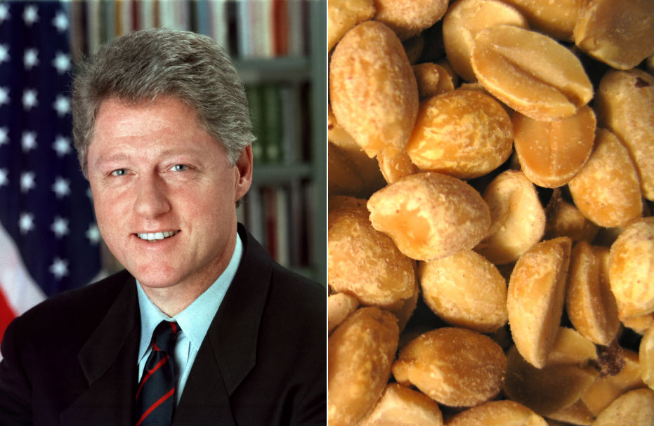 Bill Clinton creates new peanut supply chain in Haiti. Image Wikipedia