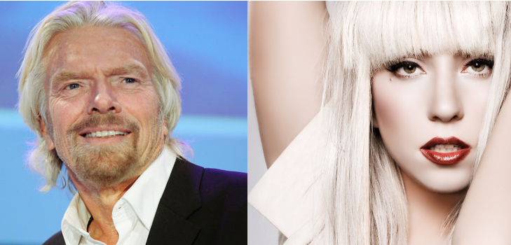 Celebrities like Richard Branson & Lady Gaga have carved-out strong personal brands...