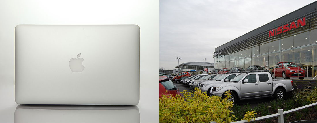 Apple and Nissan