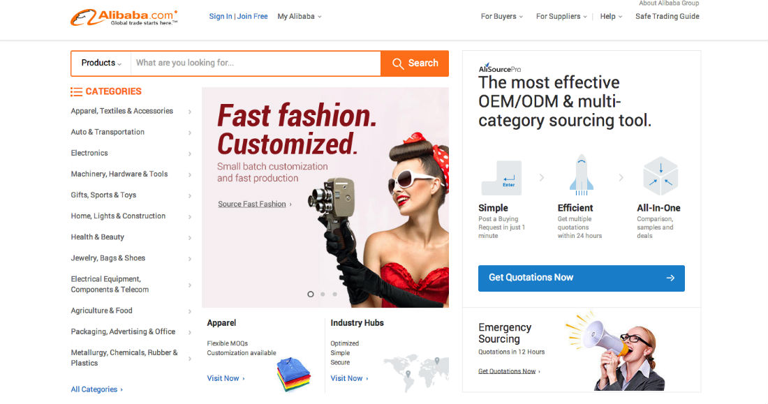 What is Alibaba? Alibaba online marketplace