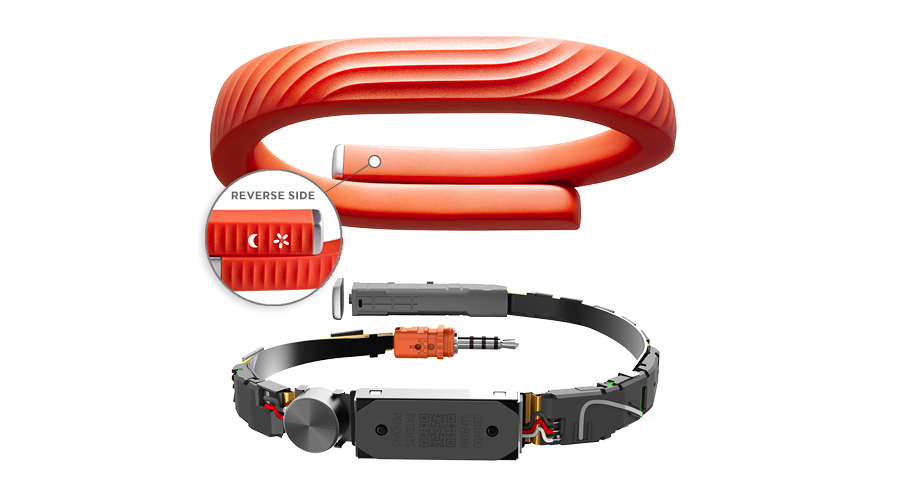 What's inside the Jawbone UP24