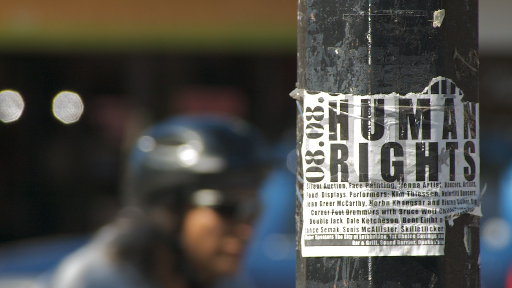 Protecting human rights abroad. Image Jeremy Schultz