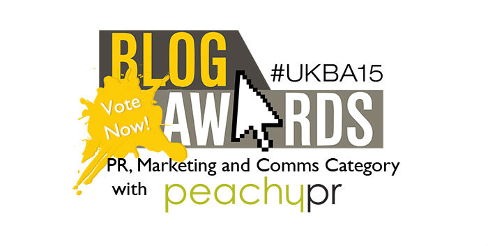 Vote for Procurious in the UK Blog Awards 2015
