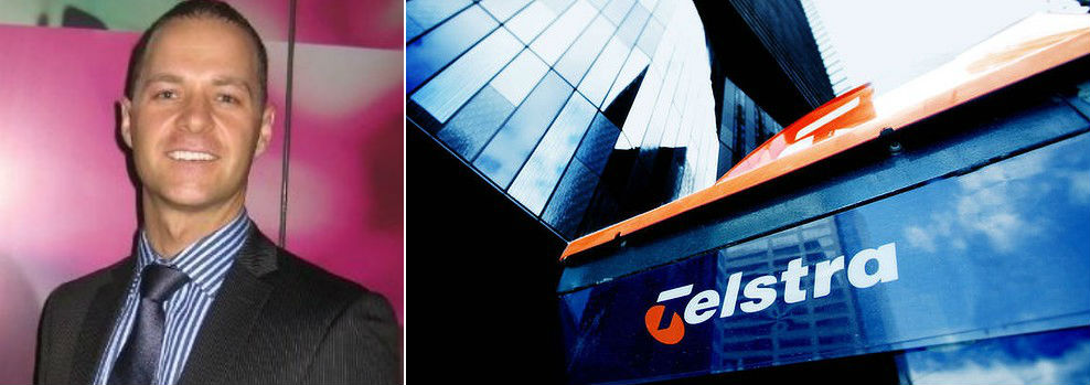 James Chalupa of Telstra