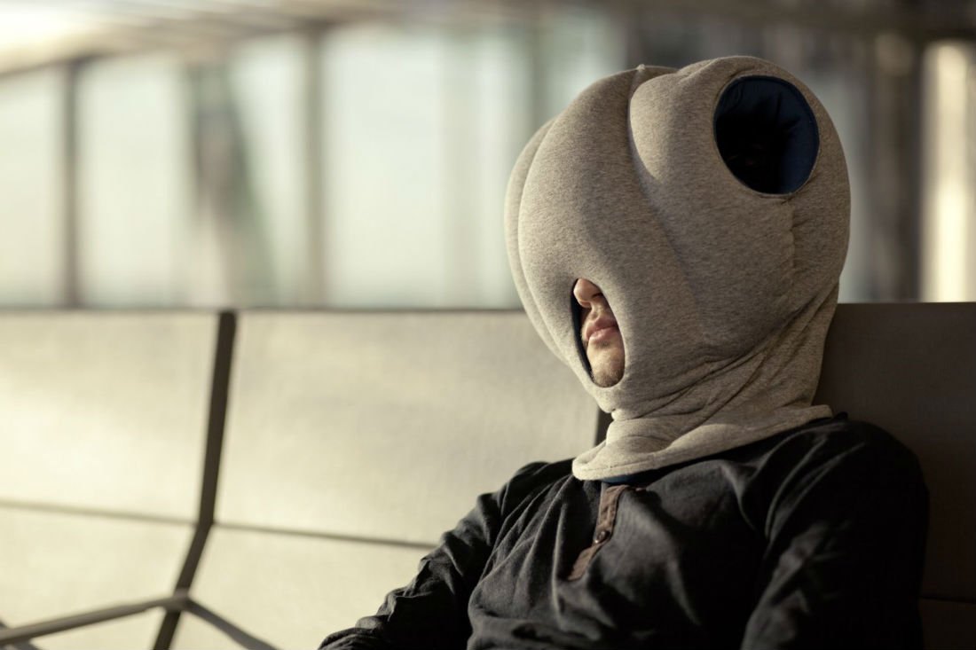 Ostrich Pillow - sleep gadgets