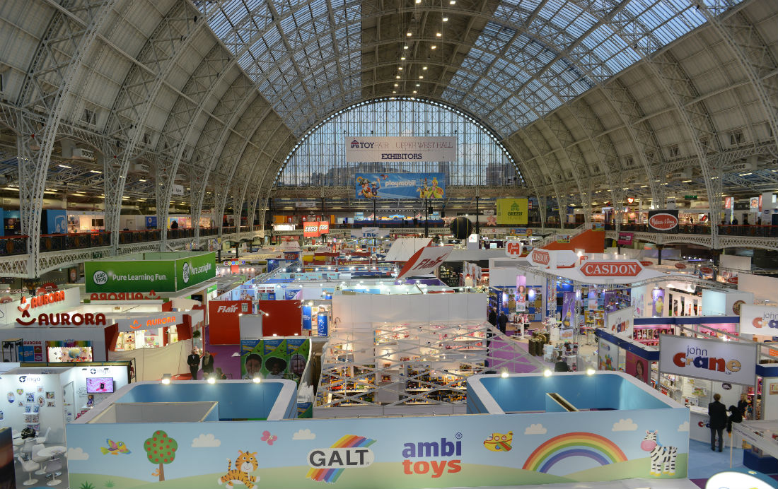 Toy Fair 2015 at London Olympia