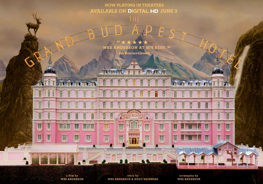 What can we learn from The Grand Budapest Hotel?