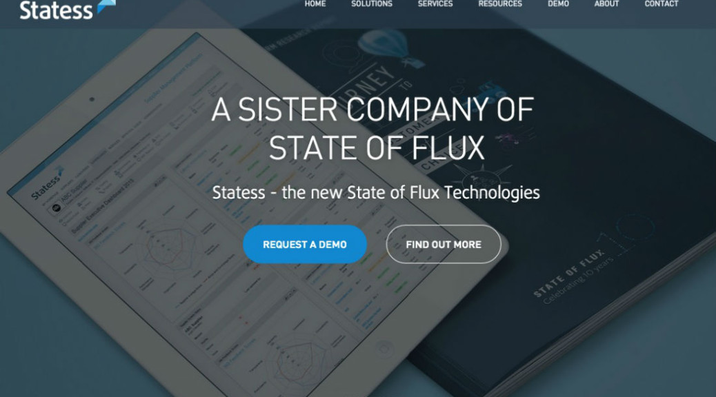 State of Flux Technologies launches its new name and brand – Statess!