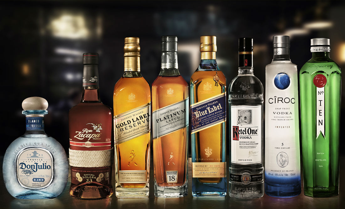 Diageo-Reserve-Collection-Group-Product-Shot