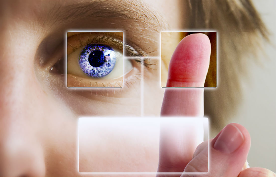 Using biometrics to control supply chains