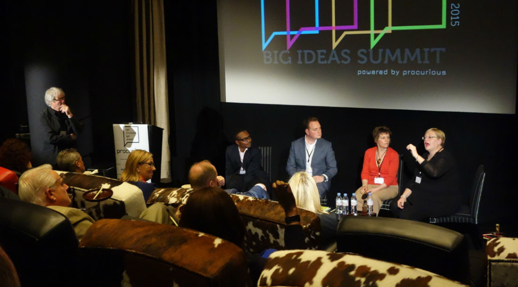 Big Ideas panel session