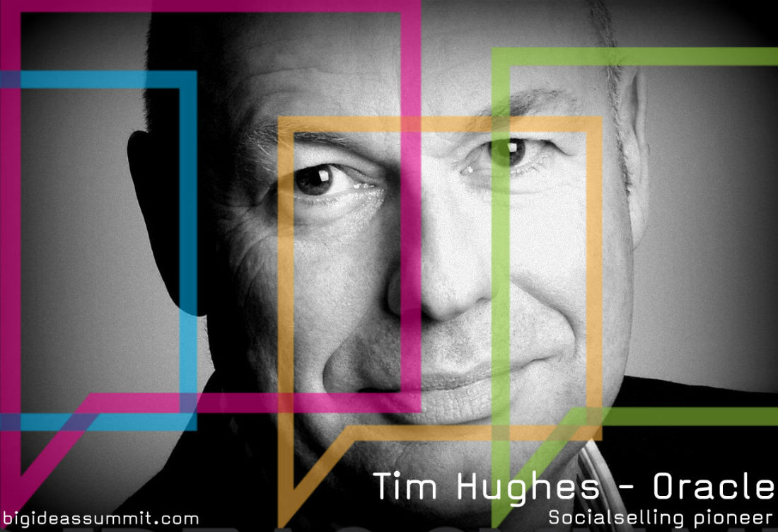 Tim Hughes will be speaking at the Procurious Big Ideas Summit
