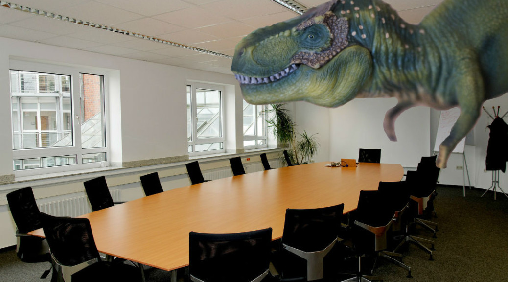 Dinosaurs in the boardroom