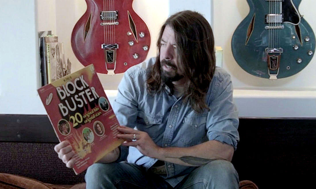 Dave Grohl ambassador of Record Store Day