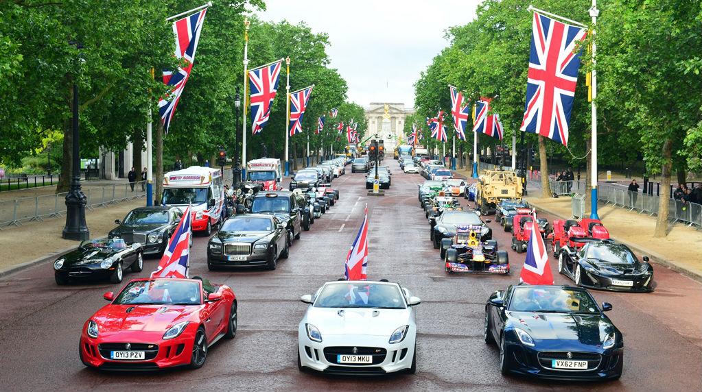 Healthy UK Automotive Industry