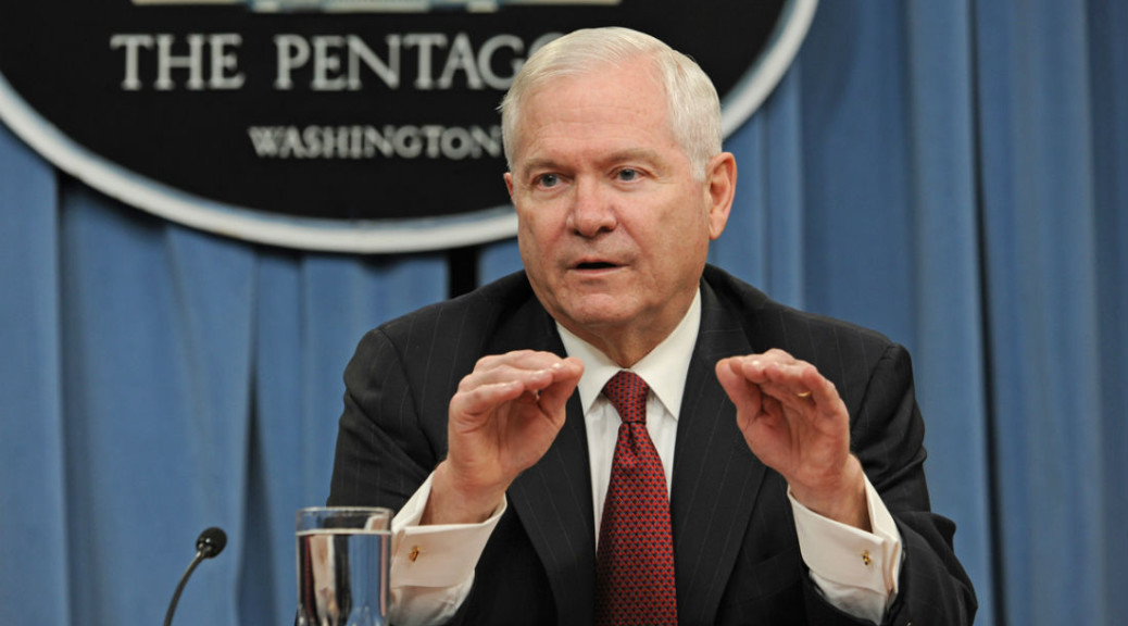Robert Gates talked at ISM2015