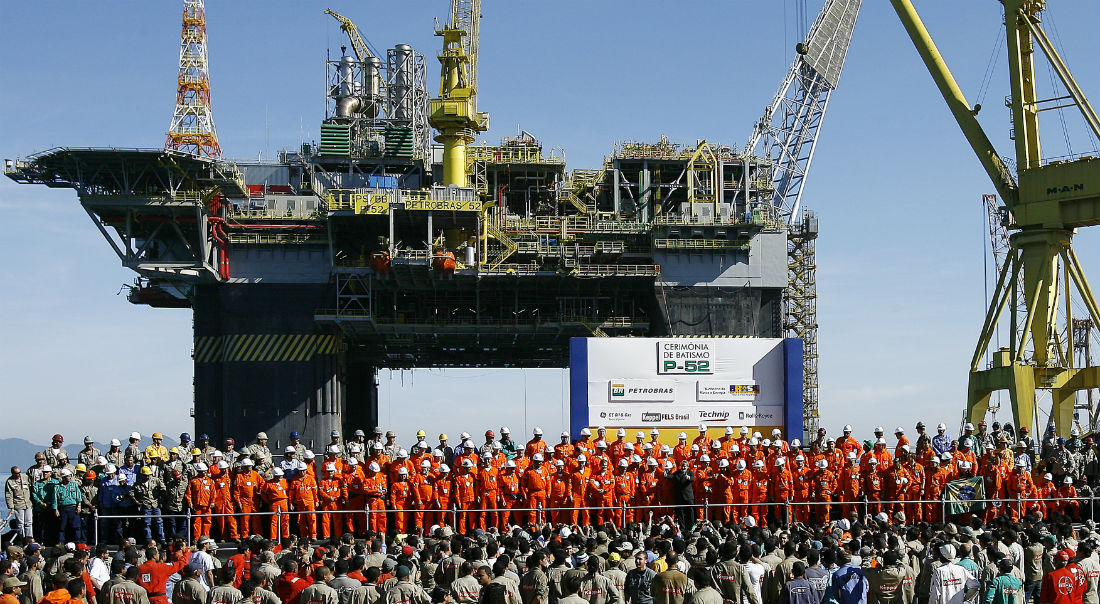 Petrobras, a Brazilian state owned oil company