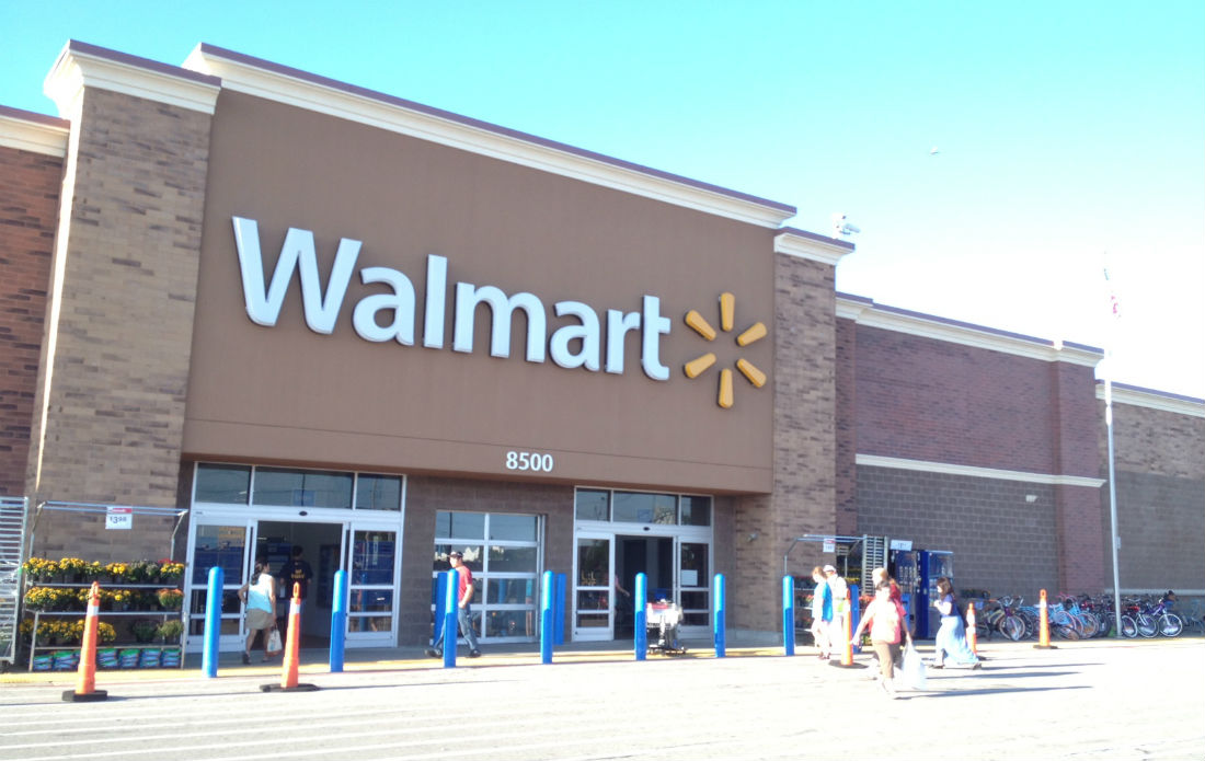 WALMART criticised for sourcing water from California
