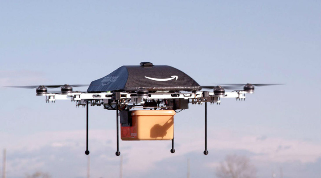 Amazon plans on sending drones directly to you