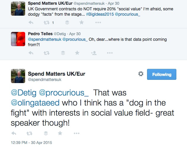 A fight erupted on Twitter around social good