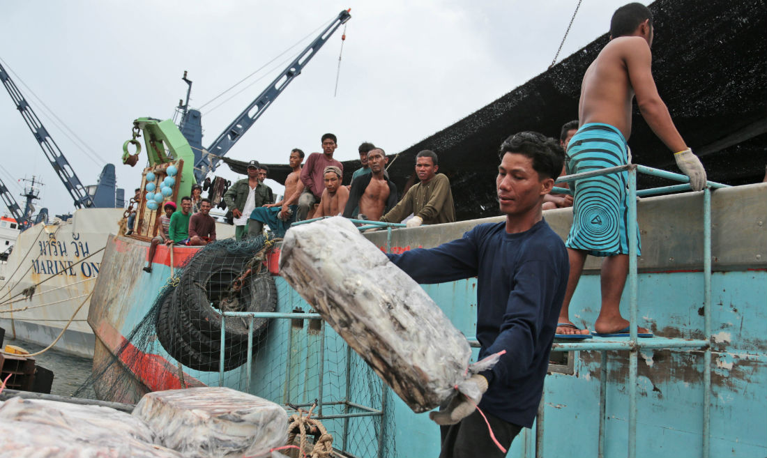 Thai fishing scandal