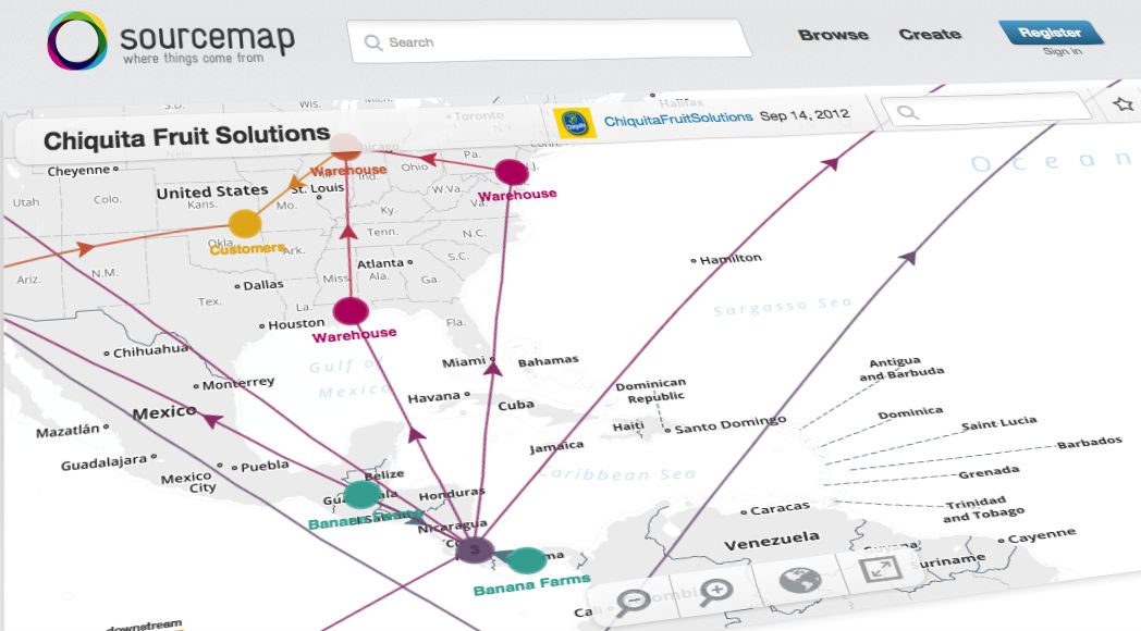 Sourcemap is mapping the world's supply chains