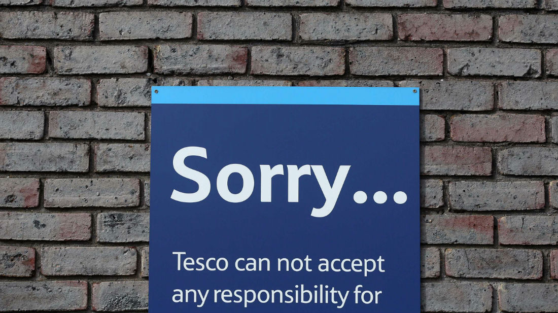 What happened at the Tesco Shareholder meeting