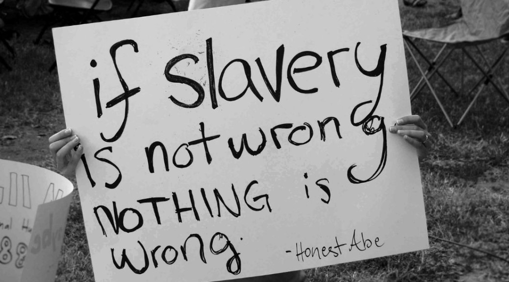 Tackling slavery in supply chains