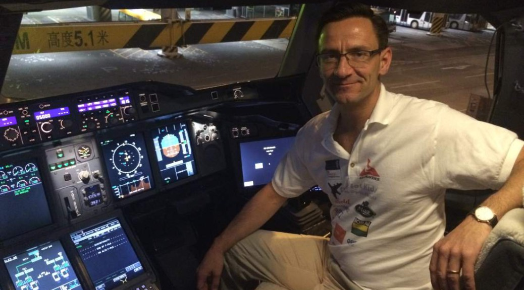 He has recorded every single flight he has been on since he was born — an incredible 1232 flights