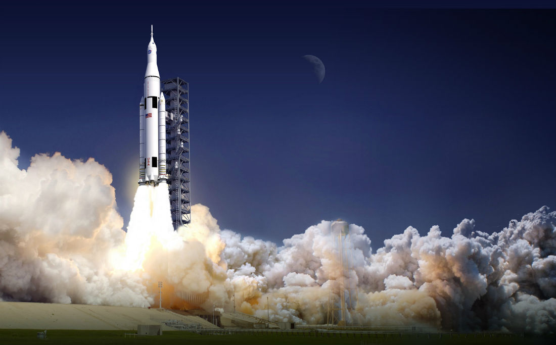 SLS-launch-at-Launch-Complex-39B-at-Kennedy-Space-Center-in-Florida-NASA-image-posted-on-AmericaSpace