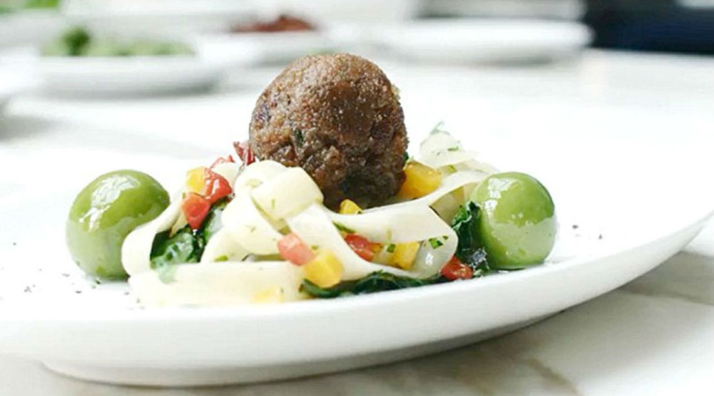 Sustainable Dining - Meatball