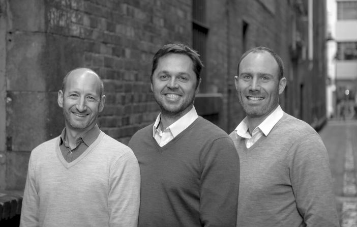VendorPanel Leadership Team (L-R): COO David Bubner; CEO James Leathem; Commercial Director Matthew Clyne.