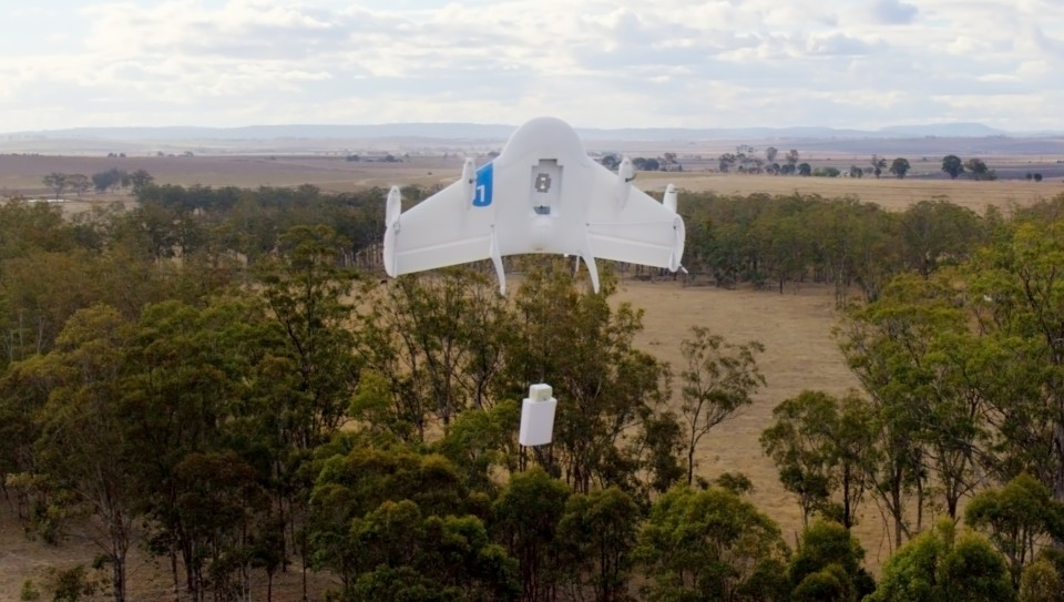 Google Project Wing drones