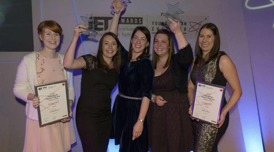 Female engineers recognised by the Institution of Engineering and Technology (IET)