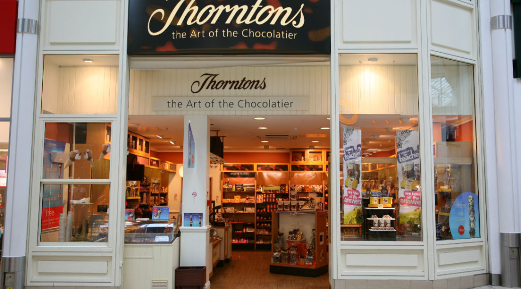 Is the UK high street in decline? Thorntons in the news