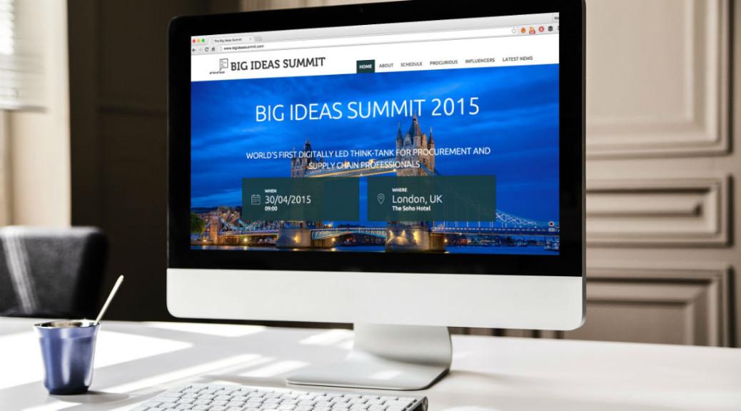 Procurious Big Ideas Summit 2015