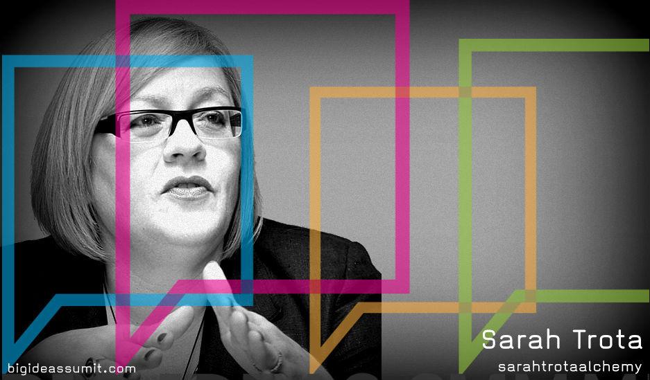 sarah-trota at Big Ideas Summit