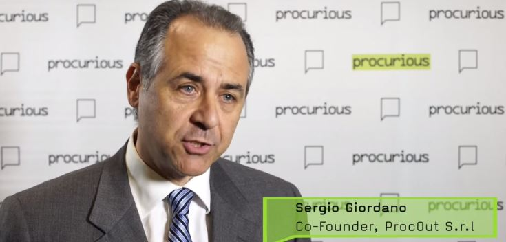 Sergio Giordano on Procurious