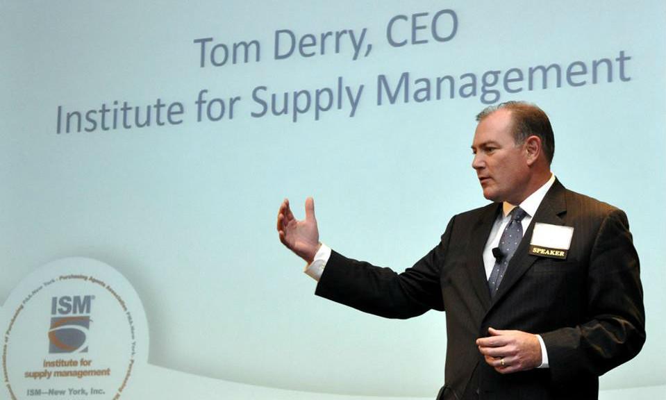 ISM CEO Tom Derry speaks to Procurious